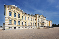 Palace Rundale in Latvia Royalty Free Stock Photography