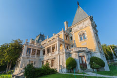 Palace of russian emperor Alexander in Massandra Royalty Free Stock Image