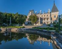 Palace of russian emperor in Massandra Stock Photo