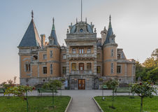 Palace of russian emperor in Massandra Stock Photography