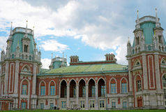 Palace of the Russian Empress Catherine II in Moscow Stock Photo