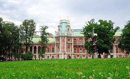 Palace of the Russian Empress Catherine II in Moscow Royalty Free Stock Photography