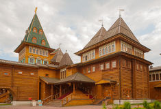 Palace of Russian Tsar Alexey Mikhailovich in Kolomenskoye Royalty Free Stock Photography