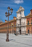 Palace of Saint Telmo, Sevilla, Spain Royalty Free Stock Photo