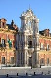 Palace of San Telmo, Seville Royalty Free Stock Image