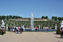 Palace Schloss Sanssouci Royalty Free Stock Photography