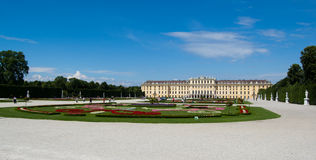 Palace Schoenbrunn Vienna Royalty Free Stock Photography
