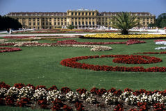 Palace Schonbrunn, Royalty Free Stock Images