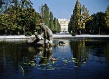 Palace Schonbrunn Stock Image