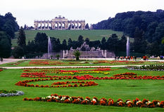 Palace Schonbrunn, Vienna Royalty Free Stock Photography