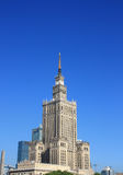 Palace of Science and Culture. In warsaw Stock Images