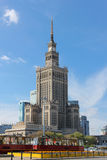 Palace of Science and Culture.  Warsaw. Poland Stock Photos