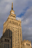 Palace of Science and Culture, Warsaw, Poland Royalty Free Stock Photos