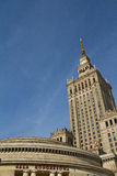 Palace of Science and Culture, Warsaw, Poland Stock Photo