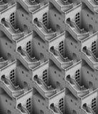 Palace seamless texture Stock Images