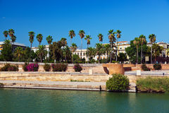 Palace in Seville Spain Stock Photos