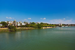Palace in Seville Spain Royalty Free Stock Images