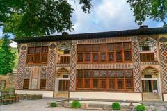 Palace of Sheki Khans. It was a summer residence of Shaki Khans. It was built in 18th century. Sheki, Azerbaijan royalty free stock photos