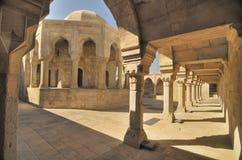 Baku town. The Palace of the Shirvanshahs in the Inner City of Baku, Azerbaijan stock photo
