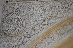Palace of the Shirvanshahs in the old town of Baku, capital city of Azerbaijan. The Palace of the Shirvanshahs is a 15th-century palace built by the Shirvanshahs stock photo
