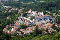 Palace of Sintra, Lisbon district, Portugal Royalty Free Stock Photography