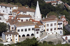 Palace of Sintra - near Lisbon - Portugal Royalty Free Stock Photo