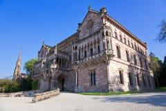 Palace of Sobrellano Royalty Free Stock Photo