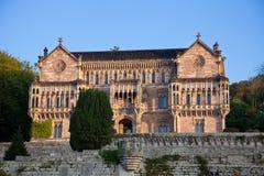 Palace of Sobrellano Stock Image