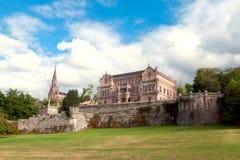 Palace Sobrellano, Comillas, Cantabria, Stock Photos