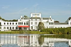 Palace Soestdijk in the Netherlands. Palace Soestdijk, the former residence of Dutch royal family Queen Juliana, Bernard and their children Stock Photography