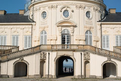 Palace of the Solitude in Stuttgart, Germany. The rococo style Palace of the Solitude in Stuttgart, Germany was built as summer residence between 1764 and 1769 Stock Image