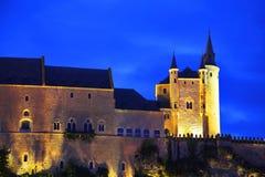 Palace of Spanish kings Alkasar Royalty Free Stock Photos