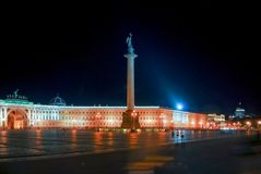 Palace Square - Saint Petersburg, Russia Royalty Free Stock Images