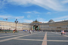 Palace Square, Alexandrian post Royalty Free Stock Photo