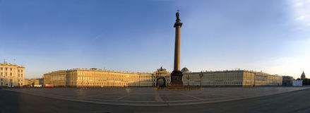 Palace square panorama Royalty Free Stock Photo