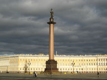 Palace Square in Saint-Petersburg Royalty Free Stock Image