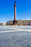 Palace square in Saint Petersburg Royalty Free Stock Images