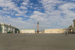 Palace Square in Saint-Petersburg Royalty Free Stock Photos