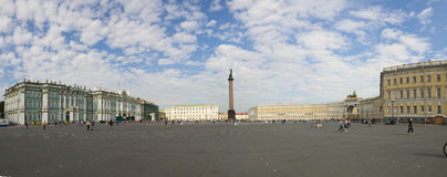 Palace Square in Saint-Petersburg Royalty Free Stock Photography