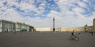 Palace Square in Saint-Petersburg Royalty Free Stock Images