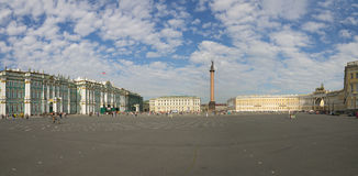 Palace Square in Saint-Petersburg Stock Images