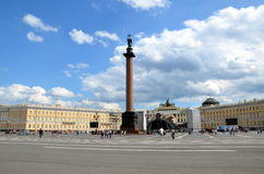 Palace Square in  Saint Petersburg Stock Photography