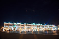 Palace Square in Saint Petersburg, Russia Stock Photos