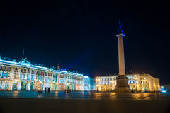 Palace Square in Saint Petersburg, Russia Royalty Free Stock Image
