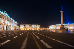 Palace Square in Saint Petersburg, Russia Stock Photo
