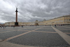 Palace Square of Saint Petersburg Stock Image