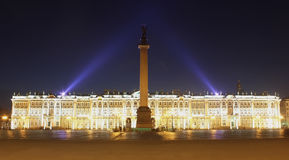 The Palace Square, St. Peterburg, Russia Stock Photography