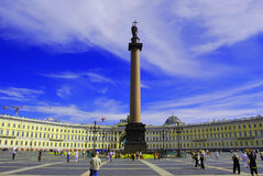 Palace square, St Petersburg Stock Images