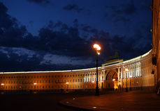 Palace Square St Petersburg Stock Photo