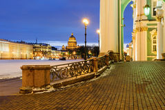 Palace square, St Petersburg Royalty Free Stock Photo